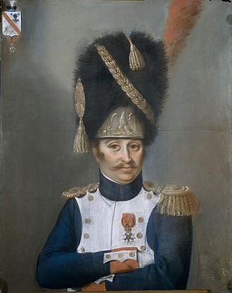 French Grenadier Officer of the Imperial Guard