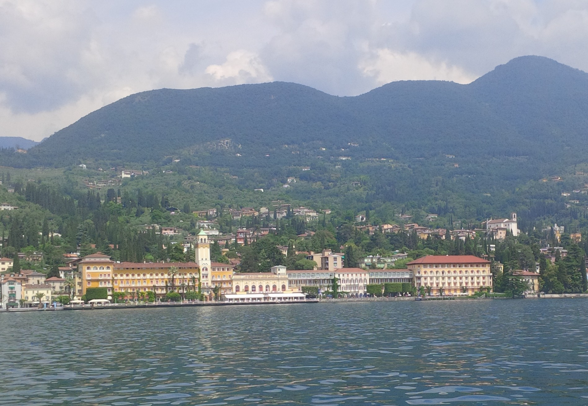 The Grand Hotel on Lake Garda