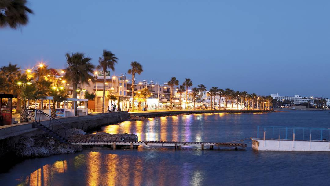 Waterfront-paphos-cyprus-night1